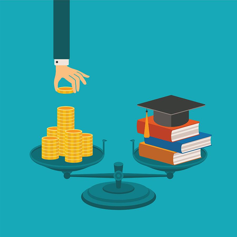 College bills over €50k in future so start saving now